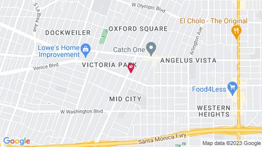 MYstayLa Map