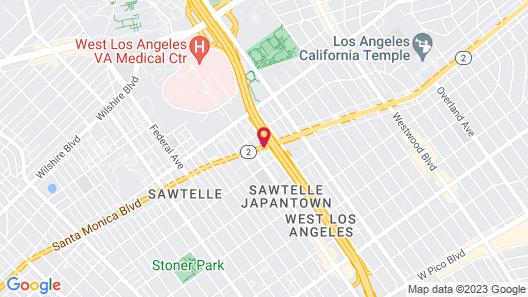 Holiday Inn Express West Los Angeles, an IHG Hotel Map