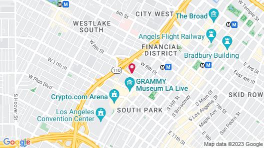 Hotel Indigo Los Angeles Downtown, an IHG Hotel Map