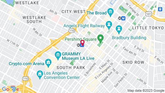 Sheraton Grand Los Angeles Map