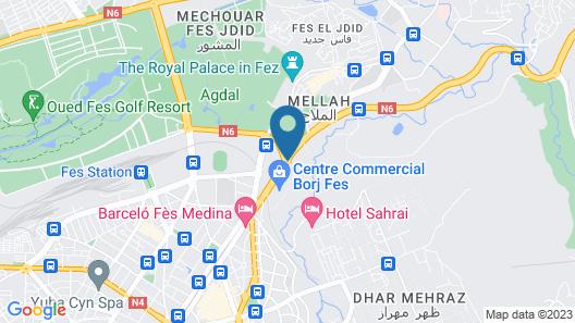 Palais Medina & Spa Map
