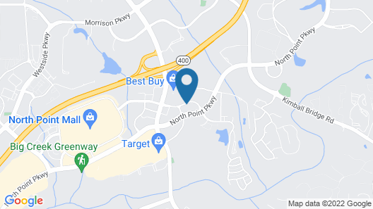 Embassy Suites by Hilton Atlanta Alpharetta Map