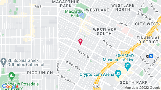 Ramada by Wyndham Los Angeles/Downtown West Map