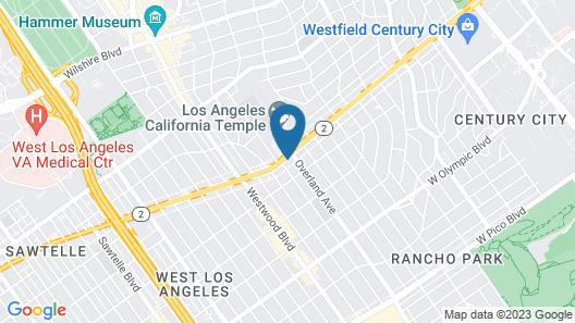 Good Nite Inn West Los Angeles-Century City Map