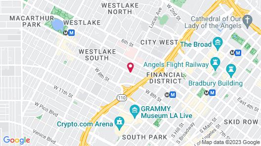 City Center Hotel Map