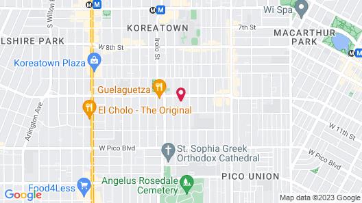 Aventura Hotel Map