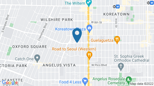 Rotex Hotel Map