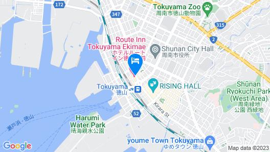 Hotel Route-Inn Tokuyama Ekimae Map