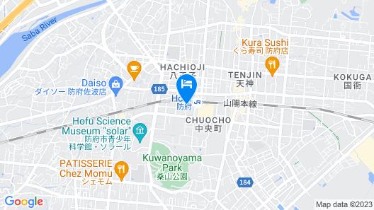Hotel Route-Inn Hofu Ekimae Map