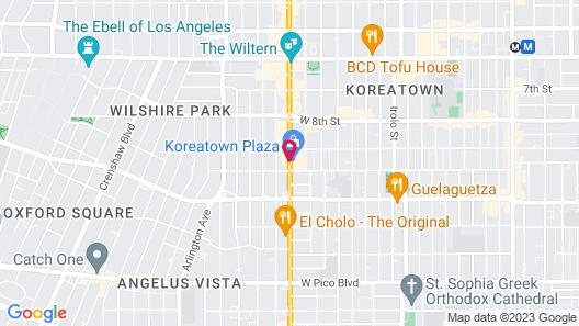 Rotex Western Inn Map