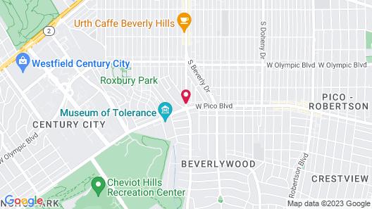 Mr. C Beverly Hills Map