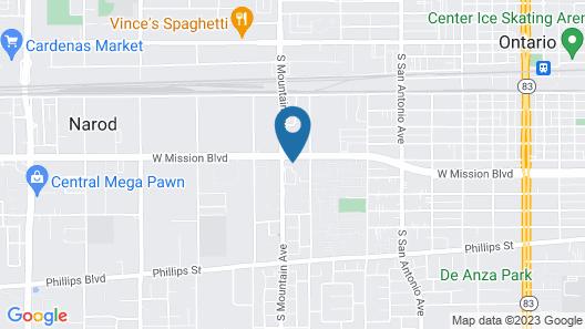 Best Ontario Inn Map
