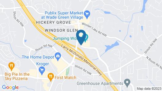 Red Roof Inn Atlanta - Kennesaw State University Map