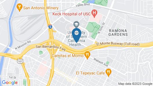 ERTH INN by AGA Los Angeles Map