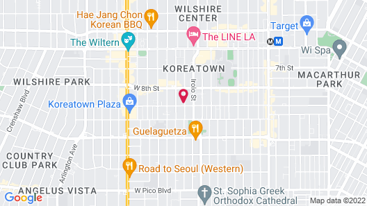 8th and Ardmore - Hostel Map