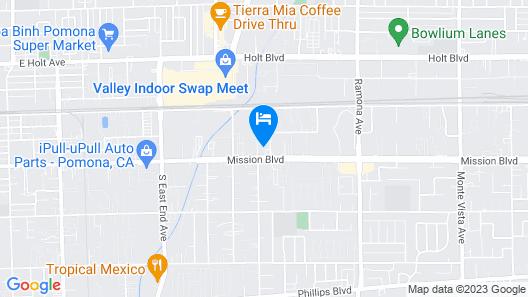 Welcome Inn Motel Map