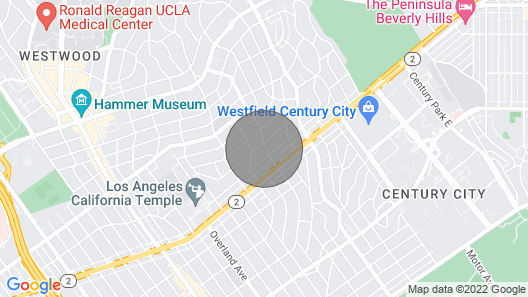 3 Bedroom House Right by Beverly Hills / Westwood / Ucla Map