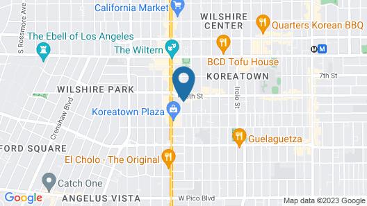 The Rumi Hostel Map