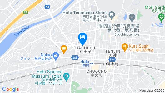 APA Hotel Yamaguchi-Hofu Map