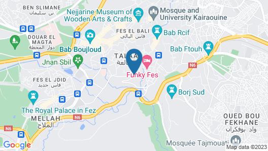 Palais Faraj Suites & Spa Map
