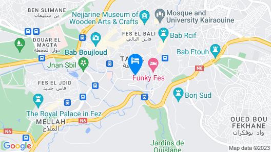 Riad Al Bartal Map