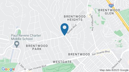 Brentwood Inn Map