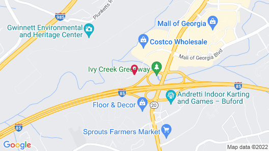 Fairfield Inn & Suites by Marriott Atlanta Buford/Mall of Georgia Map
