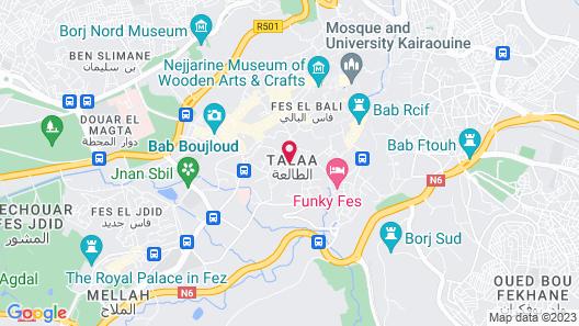 Riad Braya Map