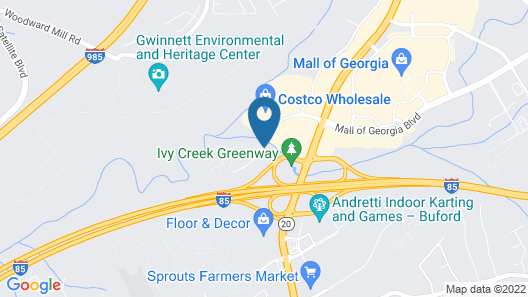 Country Inn & Suites by Radisson, Buford at Mall of Georgia, GA Map