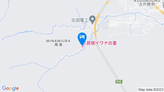 Minshuku Iwananosato Map