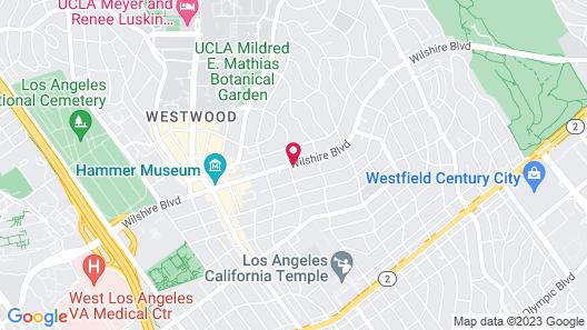 Kimpton Hotel Palomar Los Angeles Beverly Hills, an IHG Hotel Map