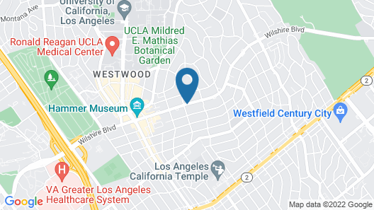 Kimpton Hotel Palomar Los Angeles Beverly Hills Map