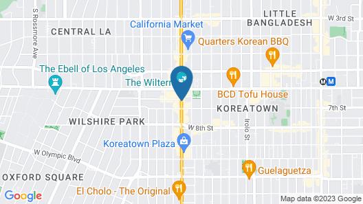 Garden Suite Hotel Map