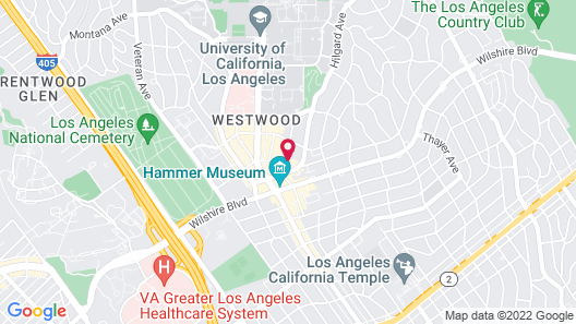 Palihotel Westwood Village Map