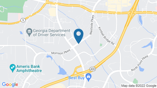 TownePlace Suites by Marriott Atlanta Alpharetta Map