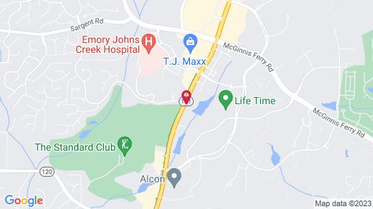 Hyatt Place Atlanta/Duluth/Johns Creek Map