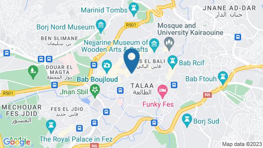 Riad Fès - Relais & Châteaux Map