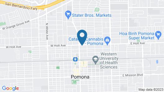 Passport Inn Pomona Map