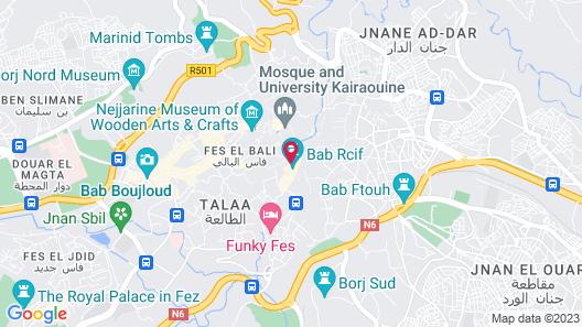 Dar Bensouda Map