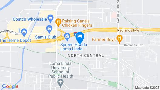 Holiday Inn Express & Suites Loma Linda- San Bernardino S Map