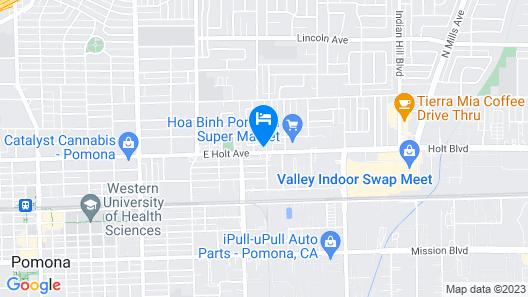Pala Motel Map