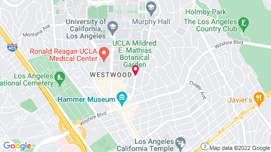 W Los Angeles - West Beverly Hills Map