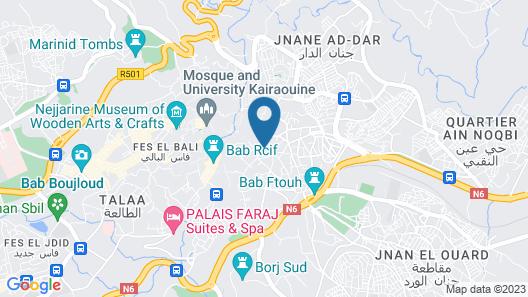 Karawan Riad Map
