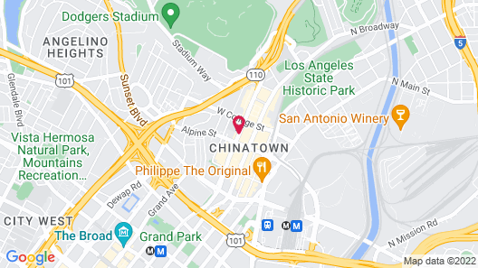 Best Western Plus Dragon Gate Inn Map