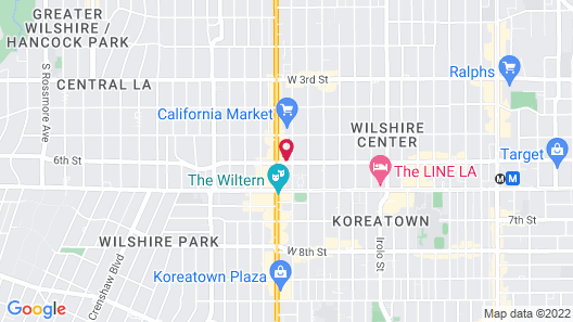 Libra Hotel Map