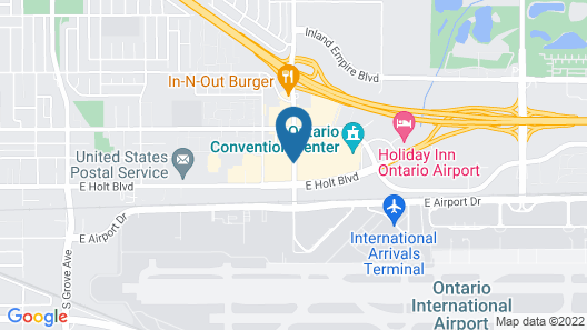 Best Western Plus Ontario Airport & Convention Center Map
