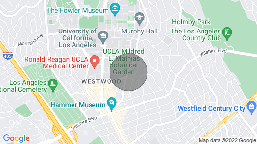 Westwood/ucla Walkable 1BR W/gym, Next to Village, Shopping by Blueground Map
