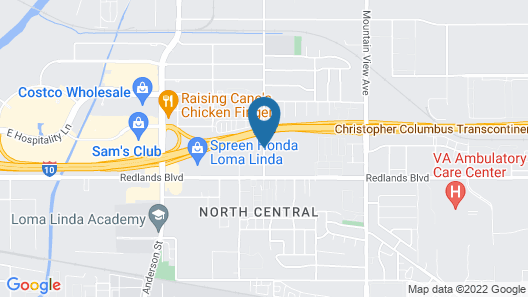 TownePlace Suites by Marriott San Bernardino Loma Linda Map