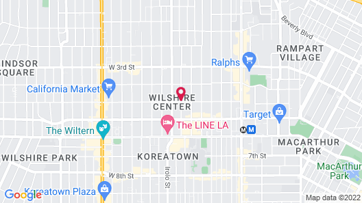 Shelter Hotel Los Angeles Map