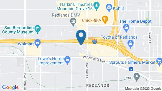 Good Nite Inn Redlands Map